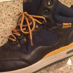 HUF Brown Leather Sneaker/Boots